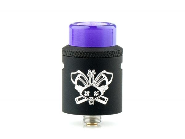 Hellvape X Heathen Dead Rabbit SQ 22mm RDA Discontinued Discontinued Black