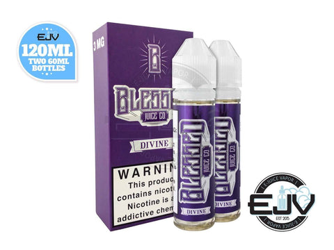 Divine by Blessed E-Liquid 120ml Clearance E-Juice Blessed E-Liquid