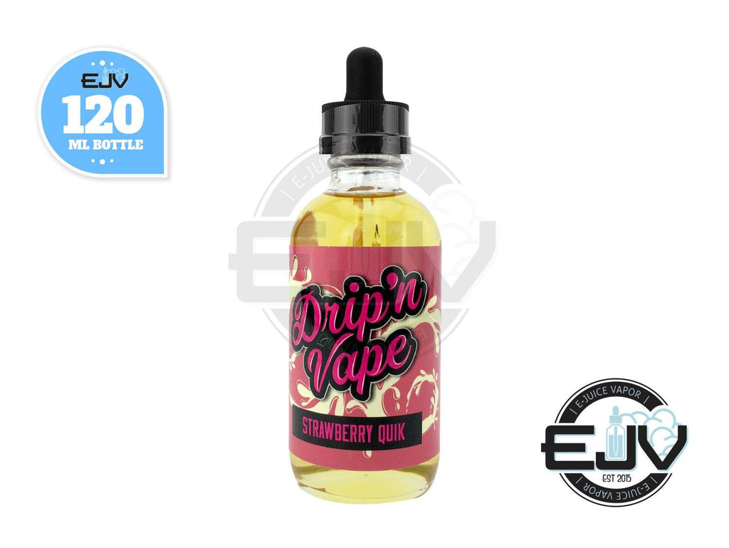 Strawberry Quik by Drip'n Vape 120ml Discontinued Discontinued