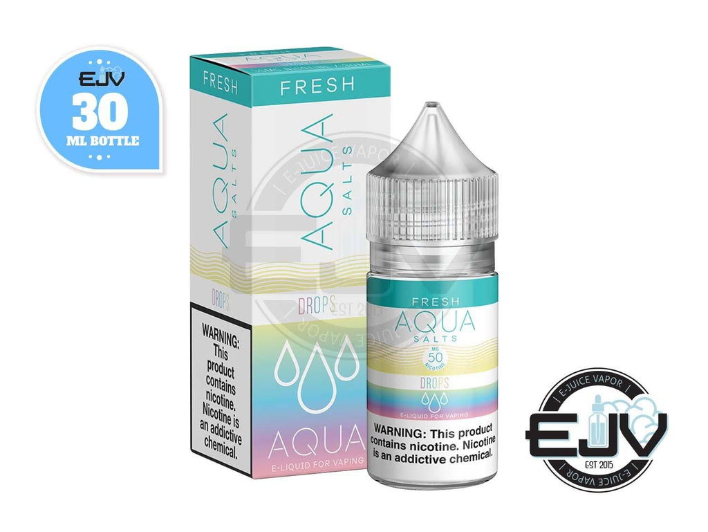 Drops (Rainbow Drops) by AQUA E-Juice Salts 30ml Nicotine Salt AQUA E-Juice Salts