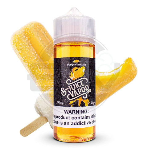 Orange Creamsicle by EJuice Vapor 120ml E-Juice EJV House Juice