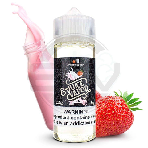 Strawberry Milk by E-Juice Vapor 120ml E-Juice EJV House Juice
