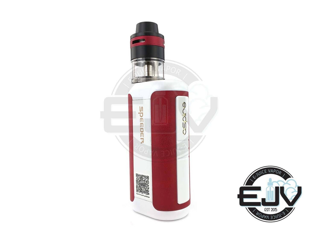 Aspire Speeder Revvo 200W TC Starter Kit Discontinued Discontinued White/Red