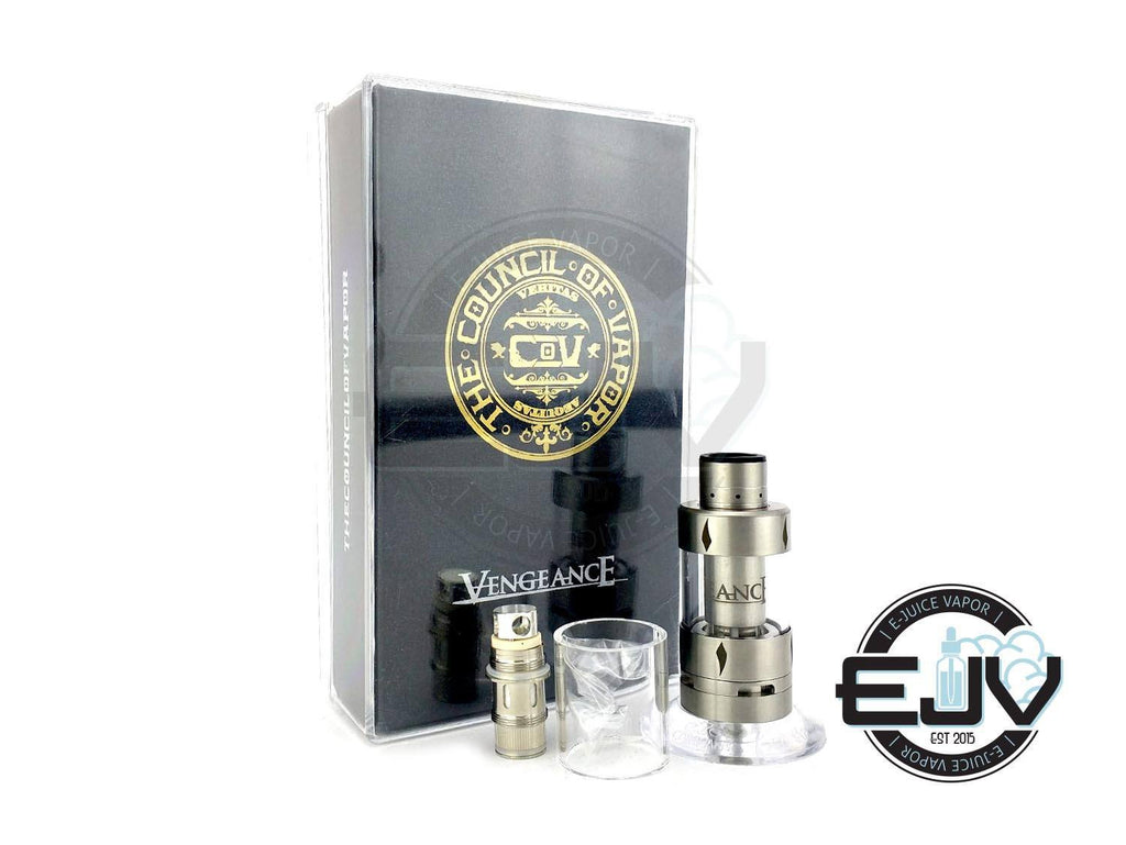 Council Of Vapor Vengeance Sub Ohm Tank Discontinued Discontinued Stainless Steel