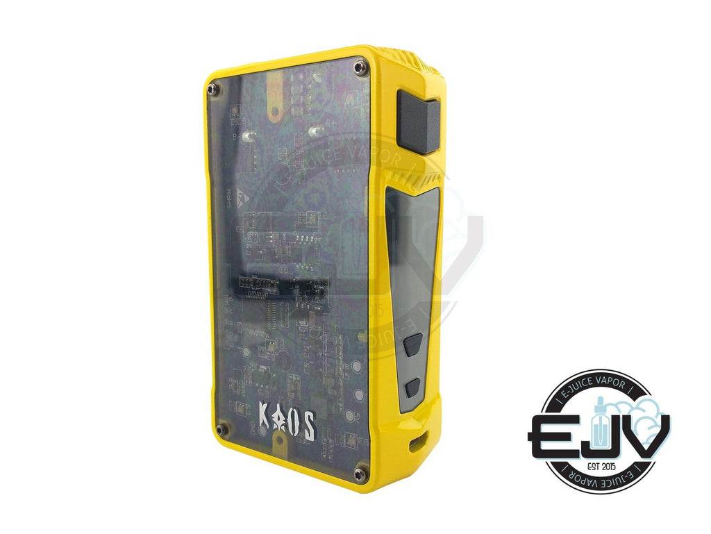 Sigelei Kaos Z 200W TC Box Mod Discontinued Discontinued Yellow