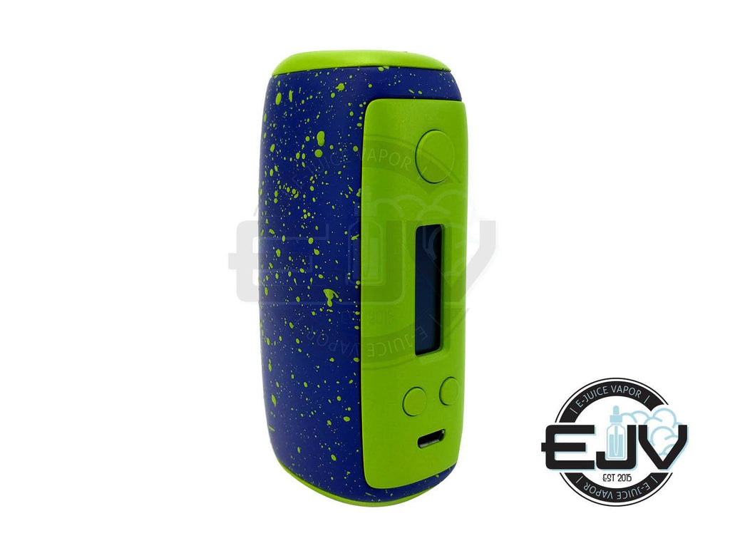 Sigelei Swallowtail 75A Box Mod Discontinued Discontinued Splash Paint Green/Blue