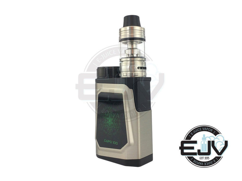 iJoy CAPO 100W TC Starter Kit with 21700 Battery Discontinued Discontinued Stainless Steel