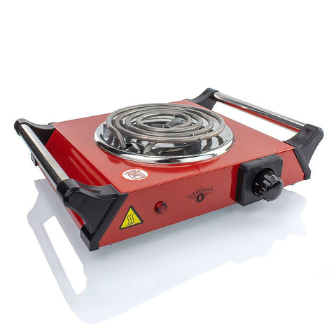 EverEmber Coal Electric Burner Charcoal Heaters EverEmber Red