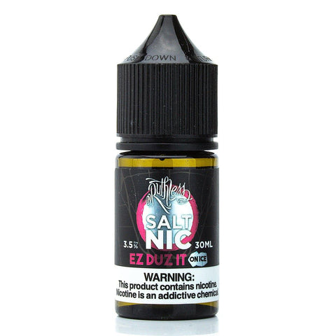 EZ DUZ IT on Ice Nicotine Salt by Ruthless 30ml Nicotine Salt Ruthless Salt