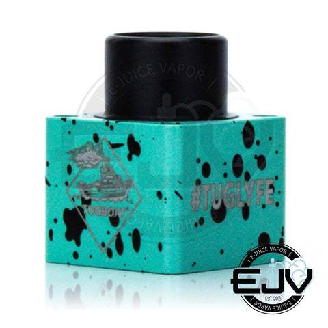 Flawless Tugboat Square Slam Cap - (Clearance) Vape Accessories Flawless Cyan