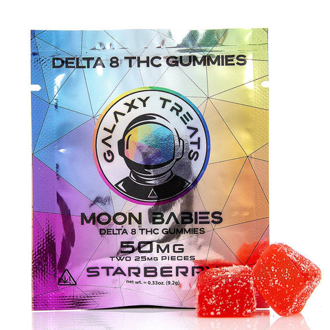 Galaxy Treats Delta 8 Gummies - (2PK) Delta 8 Galaxy Treats