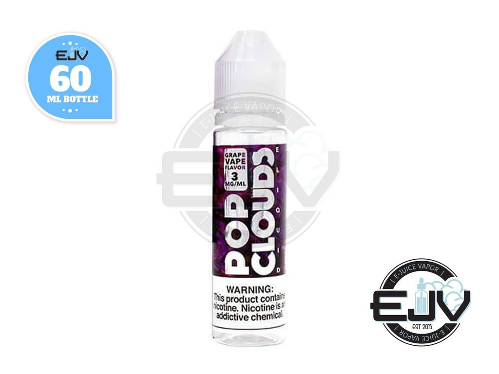 Grape Candy by Pop Clouds E-Liquid 60ml Clearance E-Juice Pop Clouds