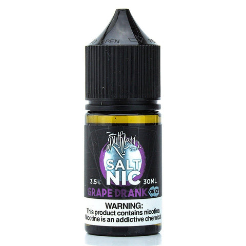 Grape Drank on Ice Nicotine Salt by Ruthless 30ml Nicotine Salt Ruthless Salt