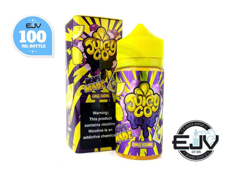 Grape Made by Juicy Co 100ml Clearance E-Juice Juicy Co