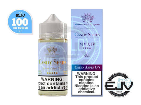 Green Apple O's by Kilo Candy Series 100ml E-Juice Kilo Candy Series