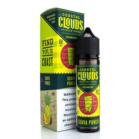 Pineapple Guava by Coastal Clouds 60ml - (Guava Punch) E-Juice Coastal Clouds