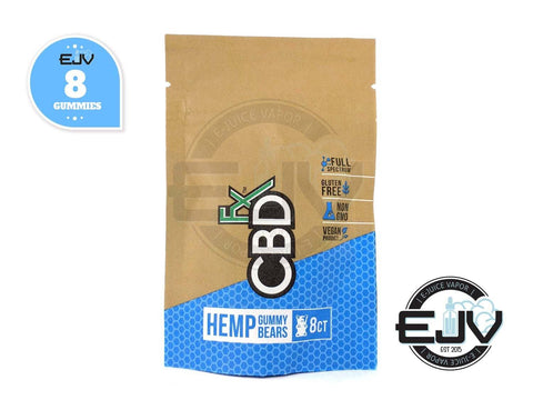 CBDfx Gummy Bears - 40mg - 8CT Pouch CBD CBDfx