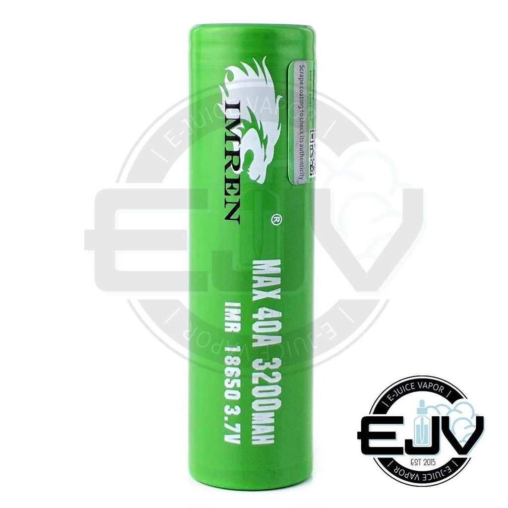 IMREN 18650 3200 mAh 40A Battery Batteries IMREN