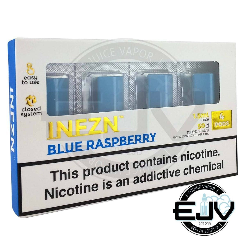 Blue Raspberry by INFZN (4 Pack) Replacement Pods PHIX