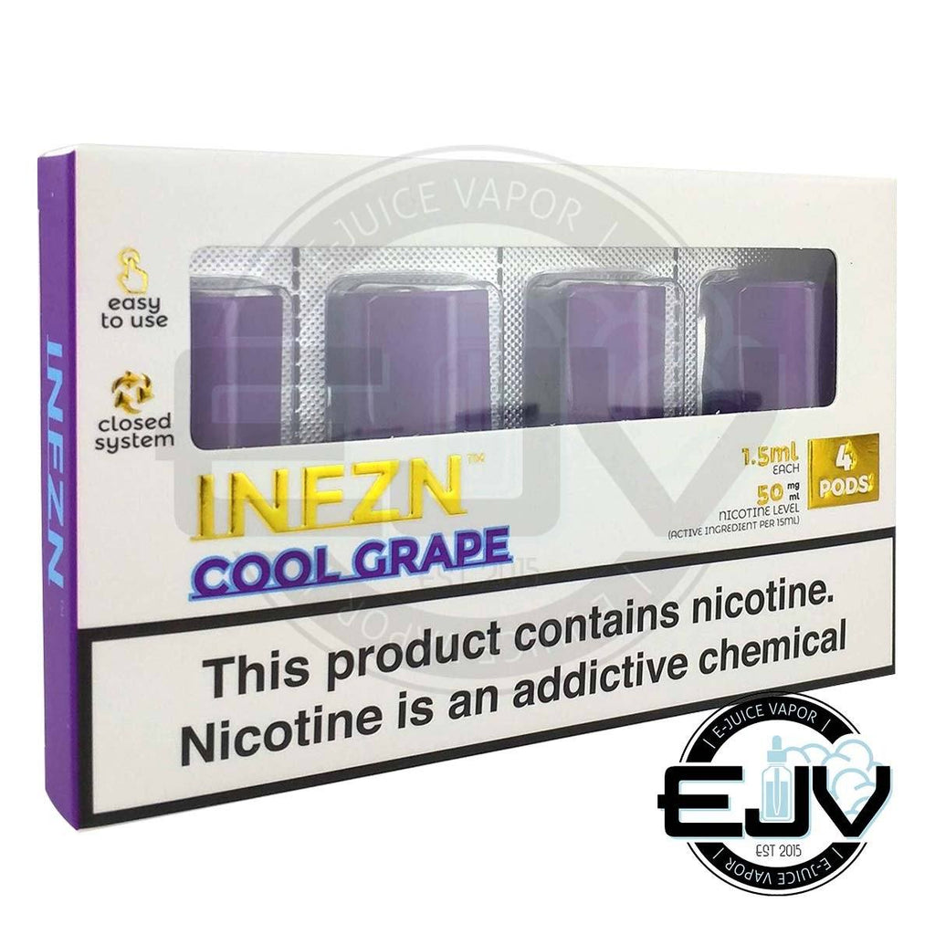 Cool Grape by INFZN (4 Pack) Replacement Pods PHIX