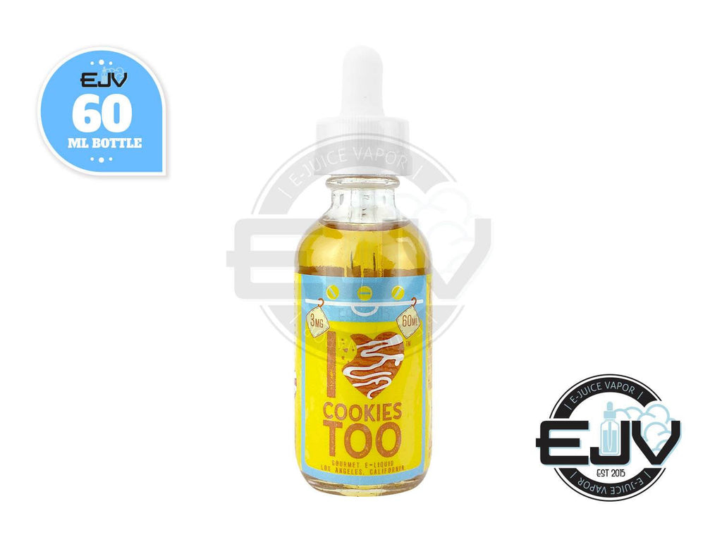 I Love Cookies Too by Mad Hatter Juice 60ml Discontinued Discontinued