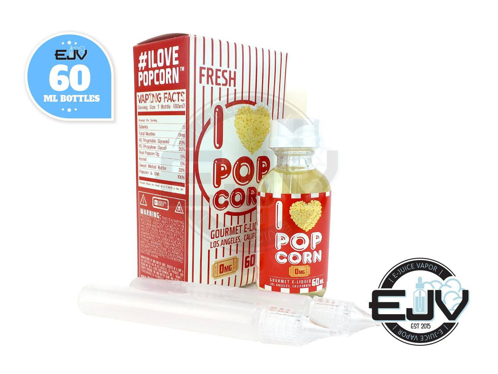 I Love Popcorn by Mad Hatter EJuice 60ML