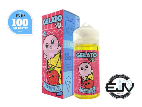 Strawberry Gelato by Ice Cream Man E-Juice 100ml Discontinued Discontinued