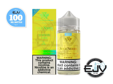 Pineapple Peach Sours Ice by Kilo Sour Series 100ml