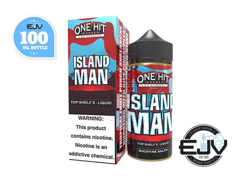Island Man by One Hit Wonder 100ml Clearance E-Juice One Hit Wonder