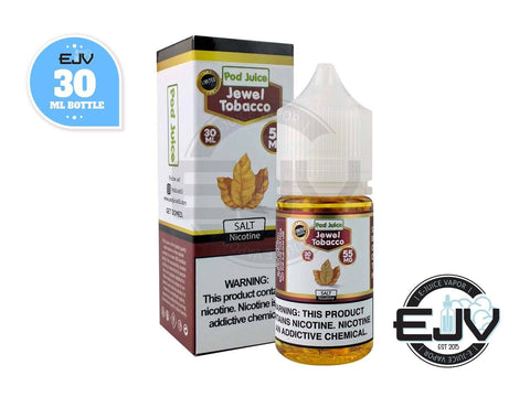 Jewel Tobacco by Pod Juice 30ml Nicotine Salt Pod Juice