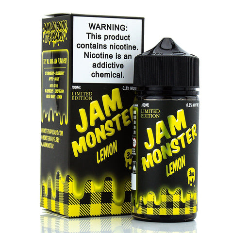 Lemon by Jam Monster 100ml E-Juice Jam Monster
