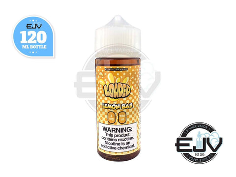 Lemon Bar by Loaded EJuice 120ml E-Juice Loaded E-Juice