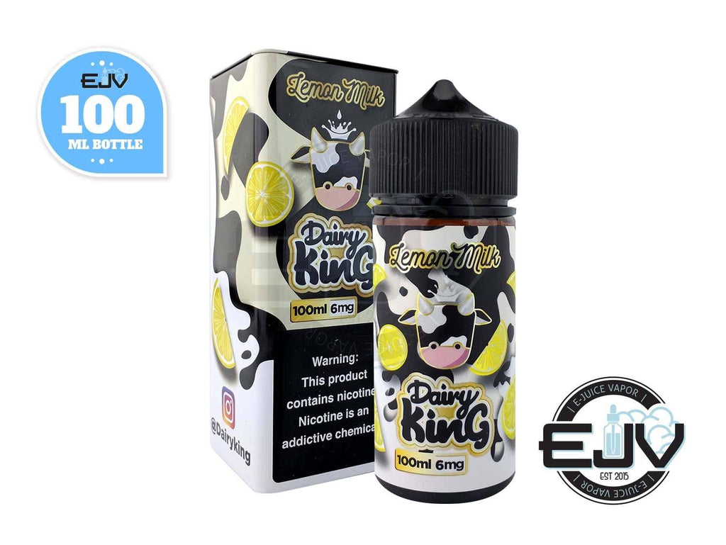 Lemon Milk by Dairy King 100ml Clearance E-Juice Dairy King