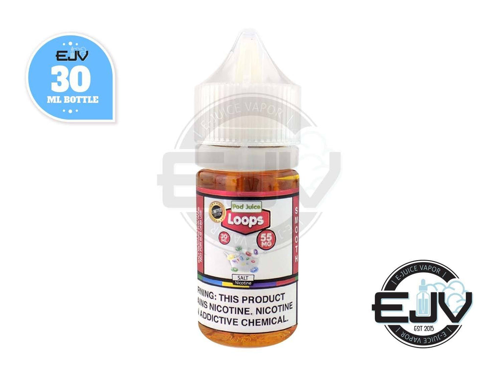 Loops by Pod Juice 30ml Nicotine Salt Pod Juice