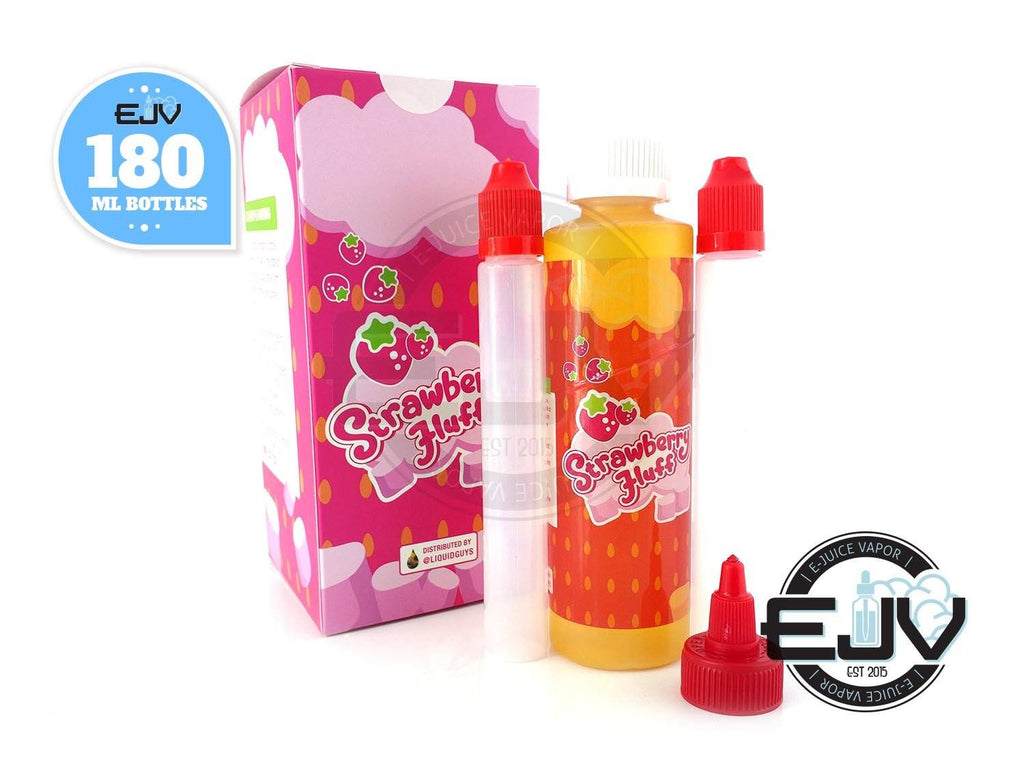 Strawberry Fluff by Muther Fluffer EJuice 180ML