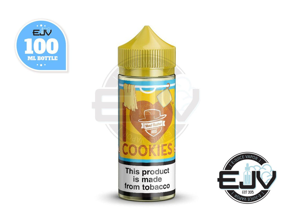 I Love Cookies by Mad Hatter EJuice 100ml E-Juice Mad Hatter Juice