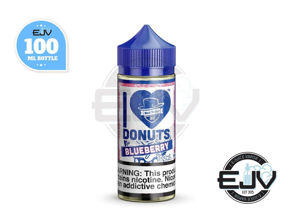 I Love Donuts Blueberry by Mad Hatter Juice 100ml