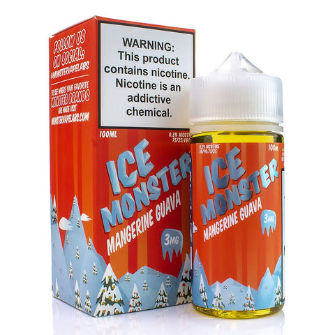 Mangerine Guava by Ice Monster 100ml E-Juice Jam Monster