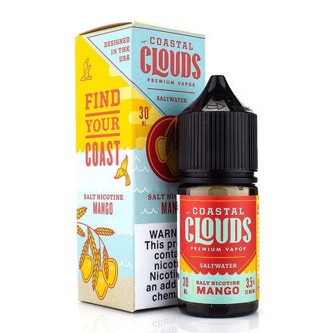 Mango by Coastal Clouds Salt 30ml Nicotine Salt Coastal Clouds Salt