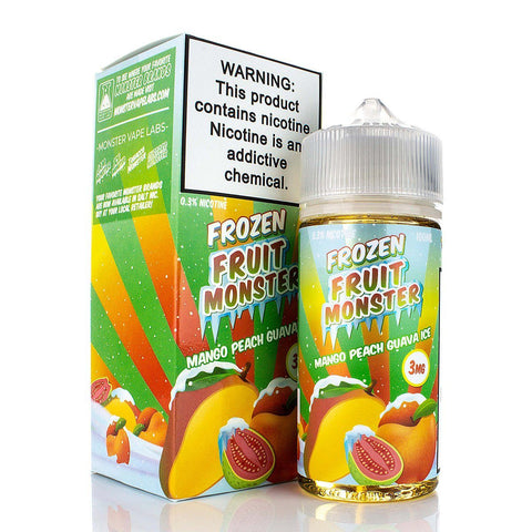 Mango Peach Guava Ice by Frozen Fruit Monster 100ml E-Juice Frozen Fruit Monster