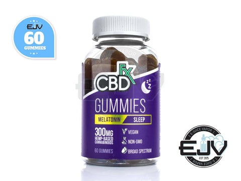 CBDfx CBD Gummies For Sleep with Melatonin 300mg - 60CT CBD CBDfx