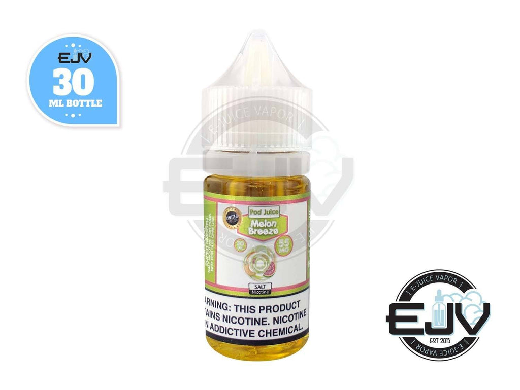 Melon Breeze by Pod Juice 30ml Nicotine Salt Pod Juice