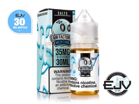 Menthol by Air Factory Salts 30ml Nicotine Salt Salt Factory