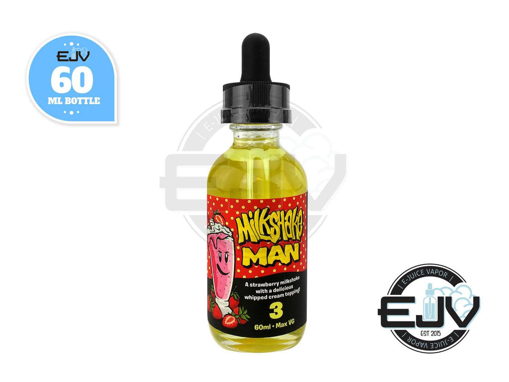 Strawberry Milkshake Man by Marina Vape EJuice 60ml