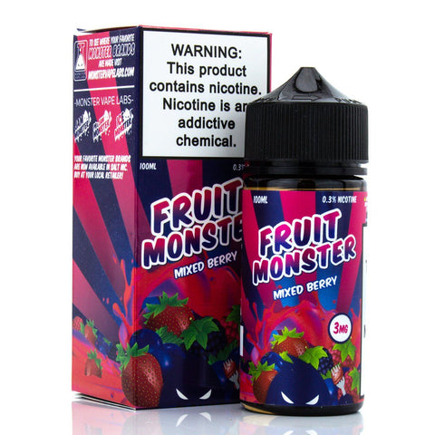 Mixed Berry by Fruit Monster E-Liquid 100ml E-Juice Fruit Monster E-Liquid