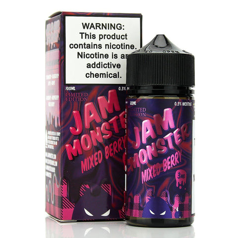 Mixed Berry by Jam Monster 100ml E-Juice Jam Monster