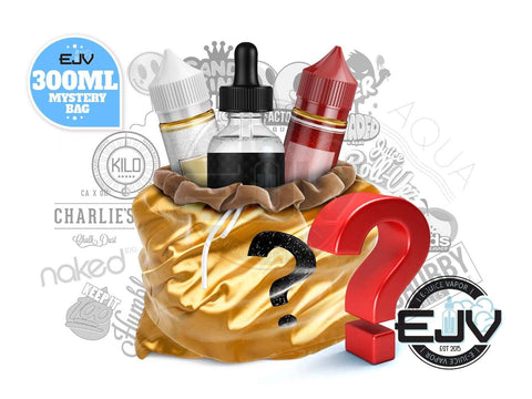 *PREMIUM* Mystery Bag E-Liquid 300ml E-Juice Goodie E-Liquid Bag