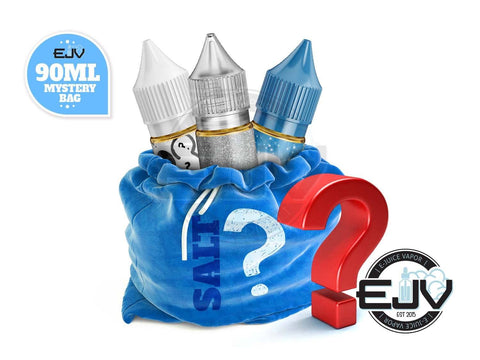 Nicotine Salt Mystery E-Liquid Bag 90ml