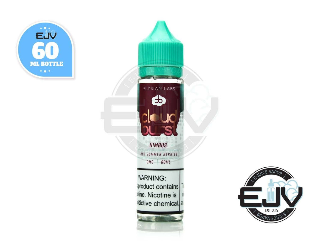 Cloud Burst Nimbus by Elysian Labs 60ml E-Juice Cloud Burst