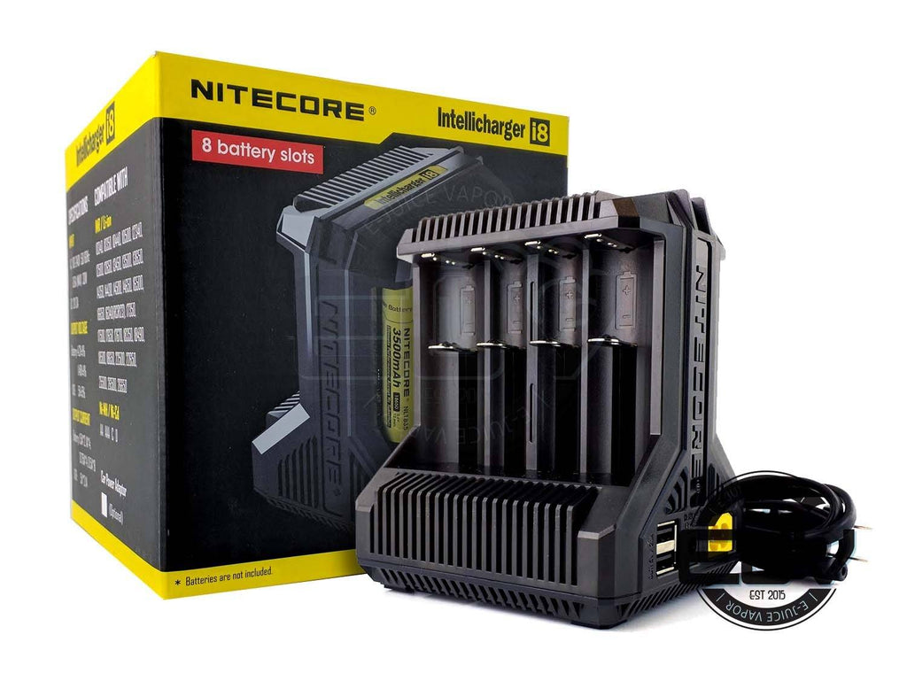 Nitecore i8 8-Bay Intelligent Battery Charger Battery Chargers Nitecore